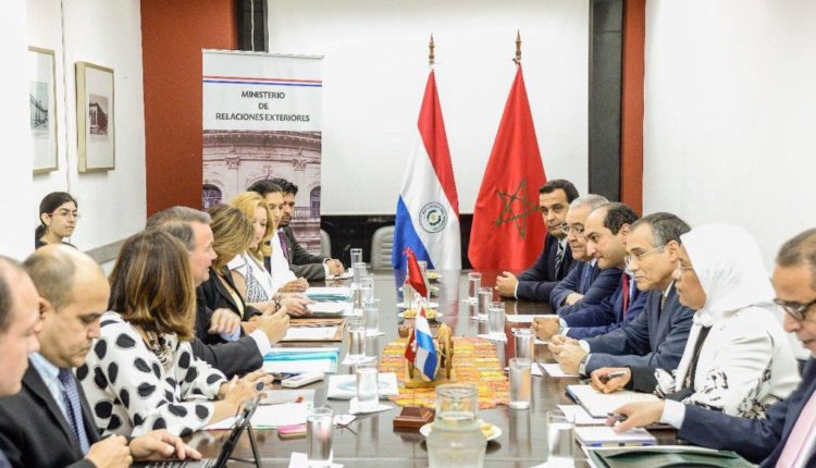 المغرب و البرغواي يتفقان على توسيع مجالات الشراكة الاستراتيجية الاتفاق على العمل المشترك في افريقيا و تبادل الخبرات في قطاعات الصحة و التنمية البشرية