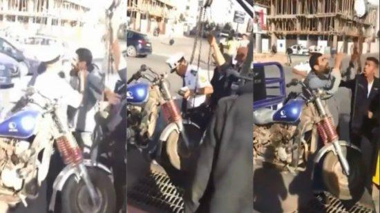 """الحموشي يصدر قرار توقيف ضابط امن ممتاز """"ها علاش"""""""