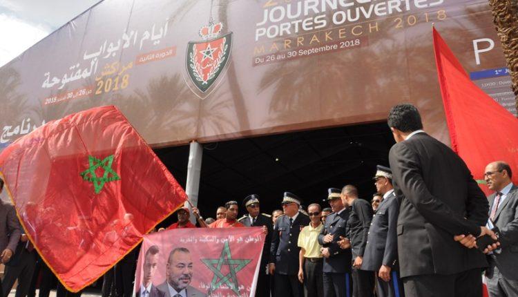 انطلاقة أيام الأبواب المفتوحة للمديرية العامة للأمن الوطني بمراكش