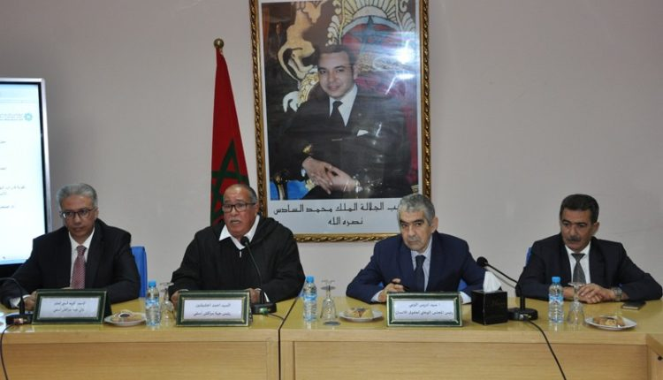 توقيع اتفاقية شراكة بين المجلس الوطني لحقوق الإنسان و جهة مراكش آسفي