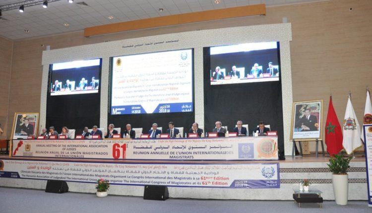 """"""" مراكش """" افتتاح أشغال المؤتمرالسنوي للإتحاد الدولي للقضاة + صور"""