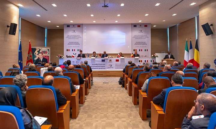 """حفل إطلاق التوأمة المؤسساتية بين المغرب والاتحاد الأوروبي حول """"دعم بناء القدرات المؤسساتية للمندوبية العامة لإدارة السجون وإعادة الإدماج للمملكة المغربية""""."""