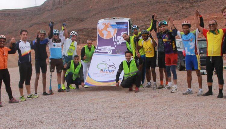 جمعية درعة للدرجات الهوائية و السياحة الايكولوجية تنظم رحلة ركوب على الدراجات الهوائية الى محاميد الغزلان
