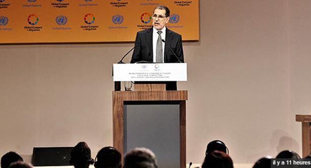 جلالة الملك يوجه رسالة إلى المشاركين في المؤتمر الدولي حول الهجرة بمراكش