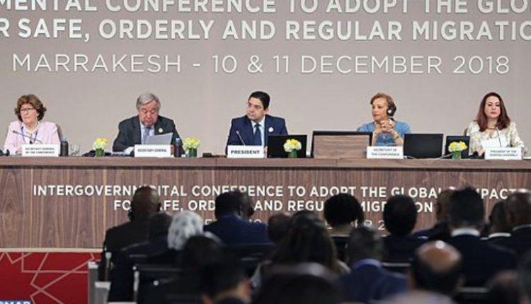 مراكش : افتتاح أشغال المؤتمر الحكومي الدولي لاعتماد الإتفاق العالمي للهجرة