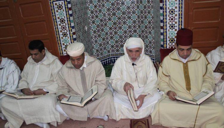 إحياء ذكرى وفاة المغفور له الحسن الثاني في حفل ديني بالزاوية الناصرية بتمكروت