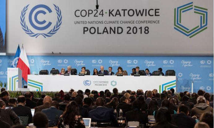 افتتاح أشغال المؤتمر الأممي حول التغيرات المناخية ( كوب 24 ) بكاتوفيتشي