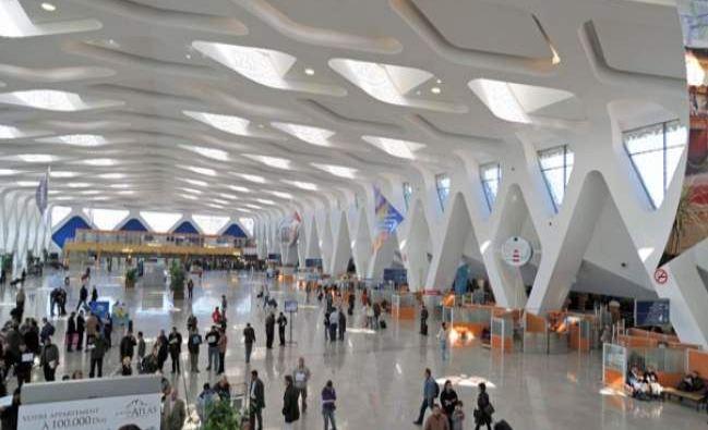 ارتفاع حركة النقل الجوي بمطار مراكش المنارة الدولي