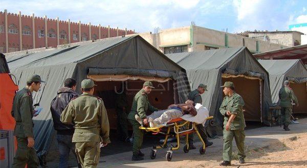 الأطباء العسكريون إلى جانب المرضى بالمناطق النائية شرق المملكة