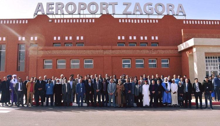 بالصور: افتتاح المحطة الجوية الجديدة لمطار زاكورة