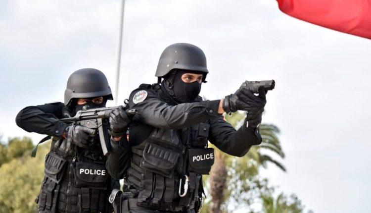 إشهار السلاح في وجه أخطر مجرم نواحي مراكش.